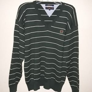 Tommy Hilfiger Golf Crest Logo Knitted Sweater